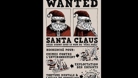 Wanted Santa Claus