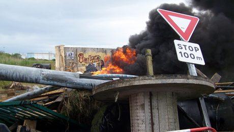 Blocage à la raffinerie de Donges 22 mai 2016